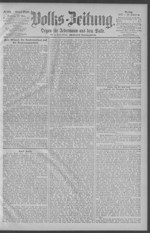 Berliner Volkszeitung vom 26.05.1891