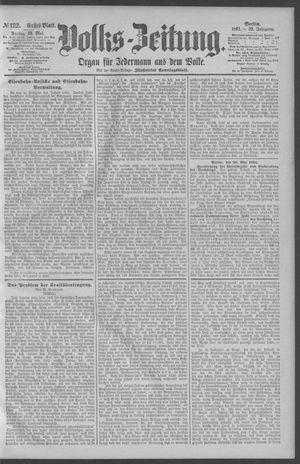Berliner Volkszeitung vom 29.05.1891