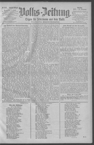 Berliner Volkszeitung on Jun 4, 1891