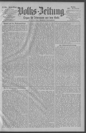 Berliner Volkszeitung vom 05.06.1891
