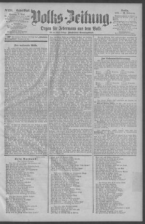 Berliner Volkszeitung vom 07.06.1891