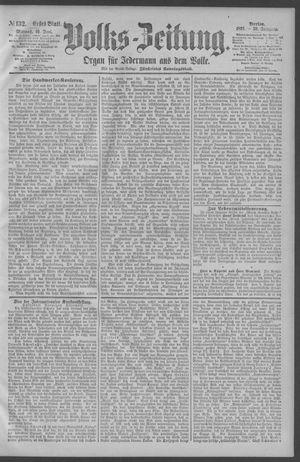 Berliner Volkszeitung vom 10.06.1891