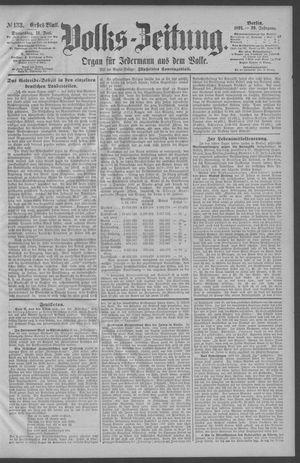 Berliner Volkszeitung vom 11.06.1891