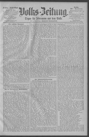 Berliner Volkszeitung vom 12.06.1891