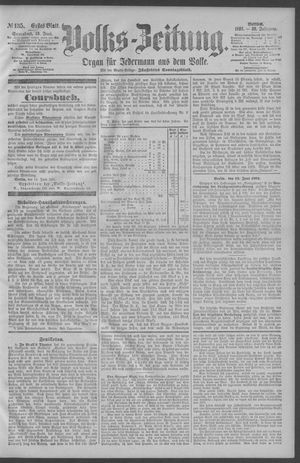 Berliner Volkszeitung on Jun 13, 1891