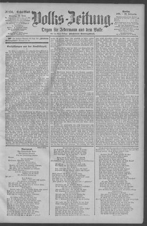 Berliner Volkszeitung vom 14.06.1891