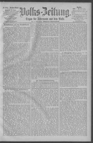 Berliner Volkszeitung on Jun 17, 1891