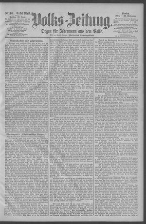 Berliner Volkszeitung on Jun 19, 1891