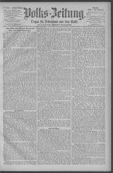 Berliner Volkszeitung (16.12.1891)