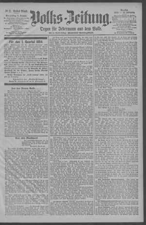Berliner Volkszeitung vom 04.01.1894