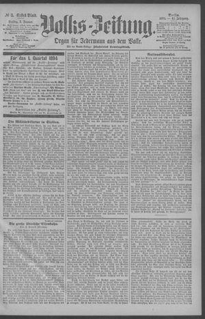 Berliner Volkszeitung vom 05.01.1894