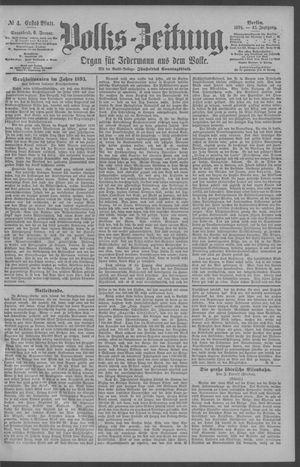 Berliner Volkszeitung vom 06.01.1894