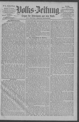 Berliner Volkszeitung vom 09.01.1894