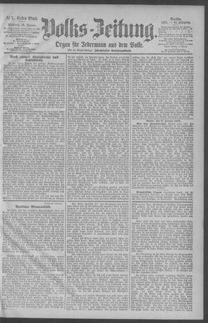 Berliner Volkszeitung vom 10.01.1894