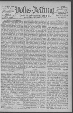 Berliner Volkszeitung vom 13.01.1894