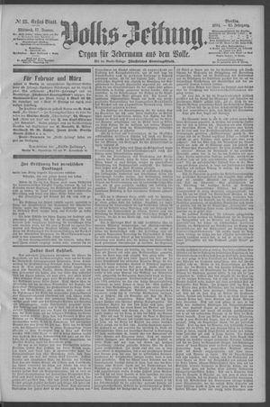 Berliner Volkszeitung vom 17.01.1894