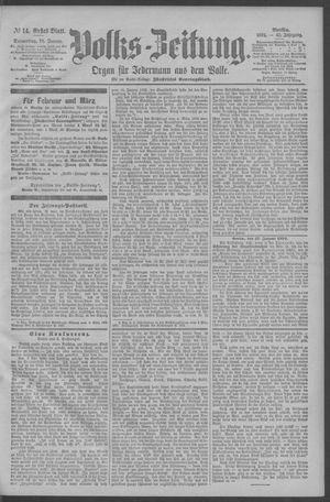 Berliner Volkszeitung vom 18.01.1894