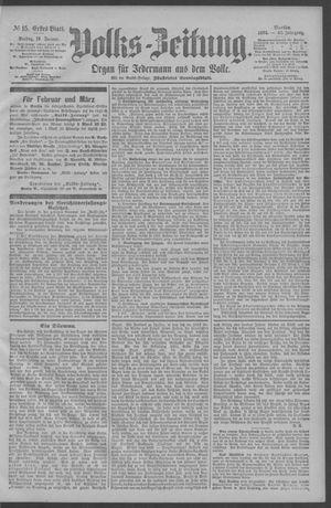 Berliner Volkszeitung vom 19.01.1894