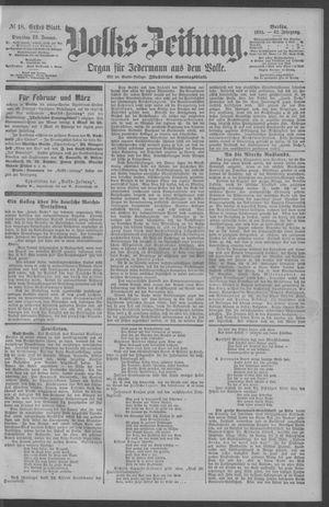 Berliner Volkszeitung vom 23.01.1894