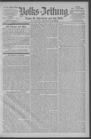 Berliner Volkszeitung vom 25.01.1894