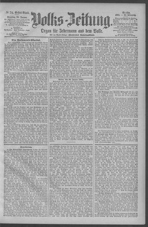 Berliner Volkszeitung vom 30.01.1894