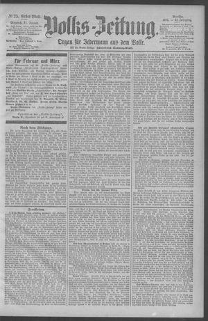 Berliner Volkszeitung vom 31.01.1894