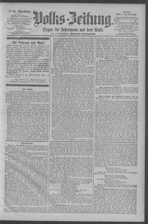 Berliner Volkszeitung vom 02.02.1894