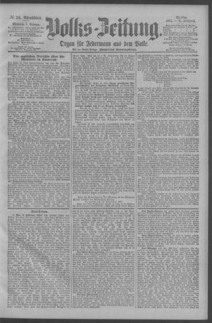 Berliner Volkszeitung vom 07.02.1894