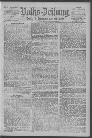 Berliner Volkszeitung vom 08.02.1894