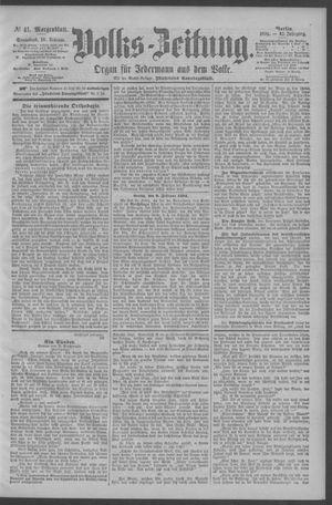 Berliner Volkszeitung vom 10.02.1894