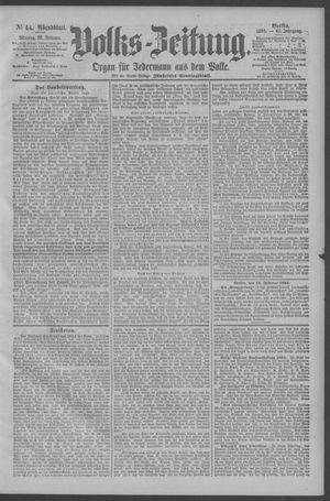 Berliner Volkszeitung vom 12.02.1894