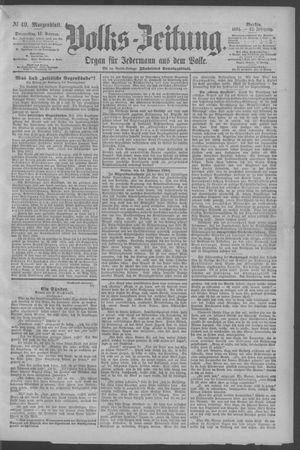 Berliner Volkszeitung vom 15.02.1894