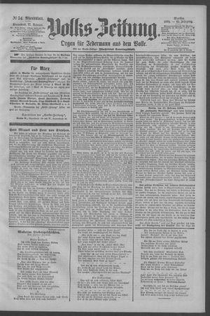 Berliner Volkszeitung vom 17.02.1894