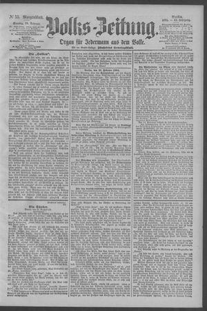 Berliner Volkszeitung vom 18.02.1894