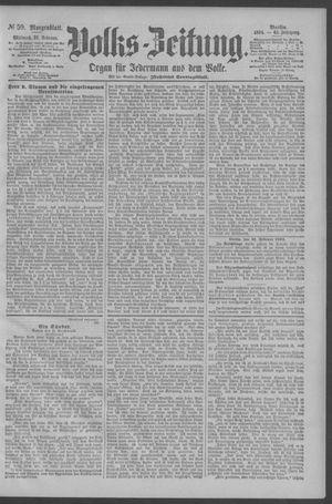 Berliner Volkszeitung vom 21.02.1894
