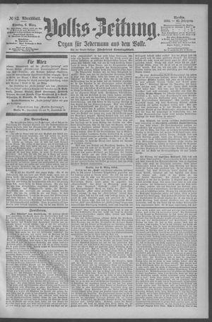 Berliner Volkszeitung vom 06.03.1894
