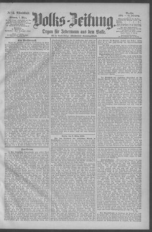 Berliner Volkszeitung vom 07.03.1894