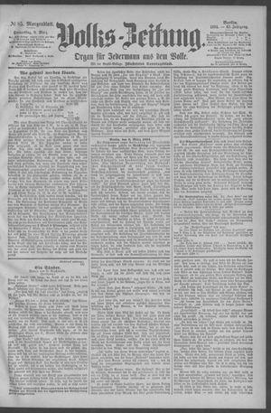 Berliner Volkszeitung vom 08.03.1894