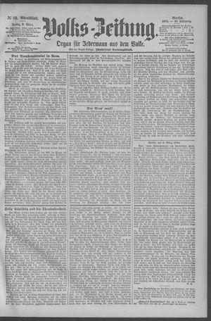 Berliner Volkszeitung vom 09.03.1894