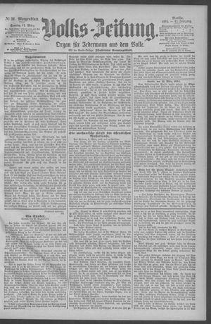 Berliner Volkszeitung vom 11.03.1894