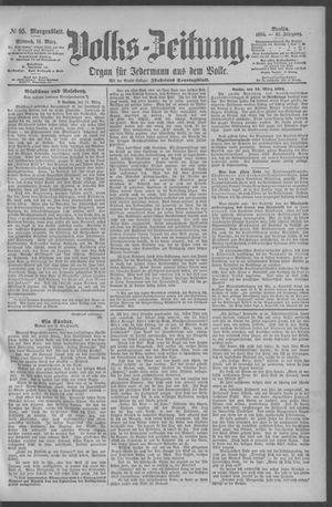 Berliner Volkszeitung vom 14.03.1894