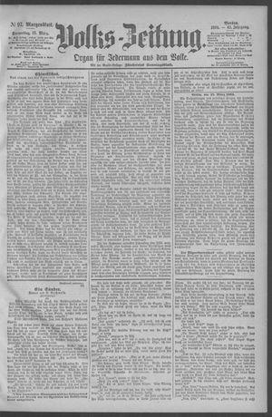 Berliner Volkszeitung on Mar 15, 1894