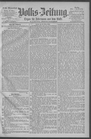 Berliner Volkszeitung vom 16.03.1894