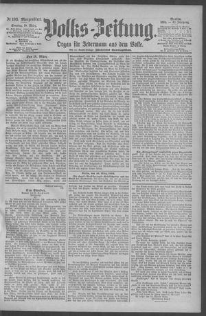 Berliner Volkszeitung vom 18.03.1894