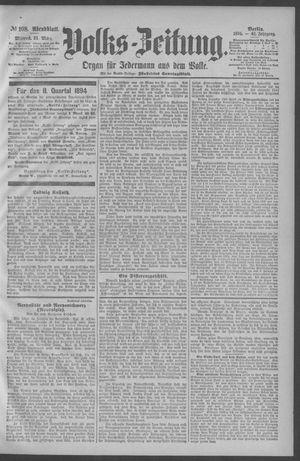 Berliner Volkszeitung vom 21.03.1894