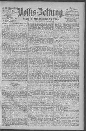 Berliner Volkszeitung vom 22.03.1894
