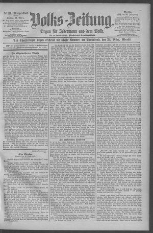 Berliner Volkszeitung vom 23.03.1894