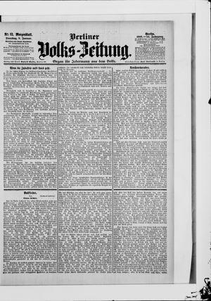Berliner Volkszeitung vom 09.01.1906