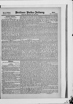 Berliner Volkszeitung vom 10.01.1906