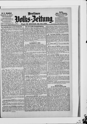 Berliner Volkszeitung vom 13.01.1906